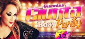 GIANNINA GIUNTA     B-DAY PARTY