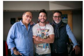 Prince Royce grabó con la leyenda del jazz Arturo Sandoval