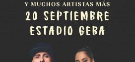 Nicky Jam junto a Natti Natasha en Argentina