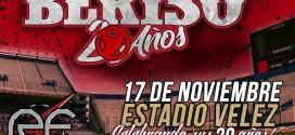 La Beriso cumple 20 años y lo festeja en Vélez!