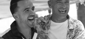 Eros Ramazzotti invitó a Luis Fonsi a participar en la grabación de su nuevo disco